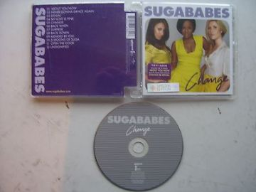 Sugababes Change CD